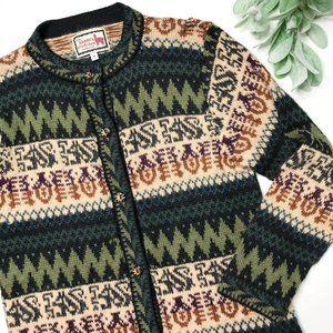ALPACA CONNECTION | sz S alpaca wool cardigan